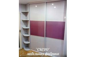 Шкаф-купе встроенный - Мебельная фабрика «Кредо»