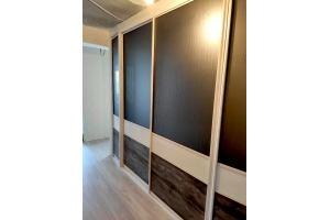 Шкаф-купе встроенный Графит - Мебельная фабрика «Дэрия»