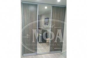 Шкаф-купе встроенный с зеркалом 7 - Мебельная фабрика «МФА»