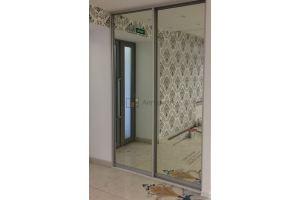 Шкаф-купе встроенный зеркальный - Мебельная фабрика «Алгоритм»