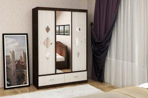 Шкаф-купе Йорк 1,50 - Мебельная фабрика «Диана»