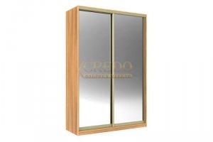 Шкаф-купе зеркальный - Мебельная фабрика «Кредо»