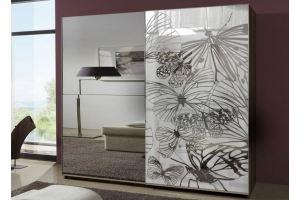 Шкаф-купе зеркальный 3 - Мебельная фабрика «Вертикаль»
