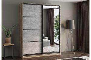 Шкаф-купе зеркальный 6 - Мебельная фабрика «Вертикаль»