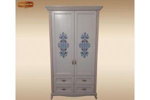 Шкаф массив дуба Престиж - Мебельная фабрика «Лидер Массив»