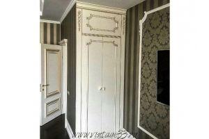 Шкаф массив с антреслью - Мебельная фабрика «Винтаж»