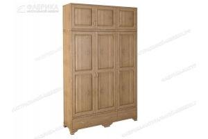 Шкаф массив ШВ 127 - Мебельная фабрика «Фабрика натуральной мебели»