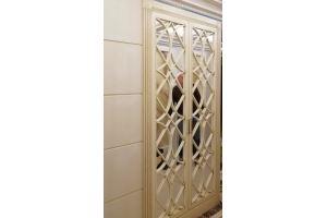 Шкаф МДФ Ромб в кубе R022 - Мебельная фабрика «Blessed-Home»