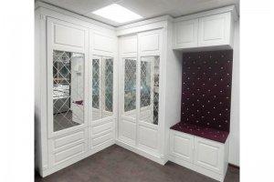 Шкаф МДФ с зеркалом Азалия - Мебельная фабрика «Люкс-С»