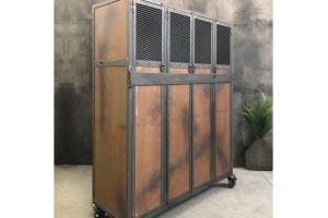 Шкаф многостворчатый 10 - Мебельная фабрика «Loft Zona»