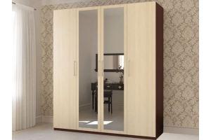 Шкаф Надежда 4Д - Мебельная фабрика «Лагуна»