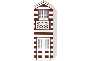 Шкаф одностворчатый Теремки - Мебельная фабрика «Мандарин»