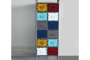 Шкаф оригинальный 2 - Мебельная фабрика «Loft Zona»