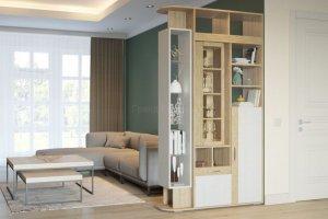 Шкаф-перегородка Венеция - Мебельная фабрика «Гранд Кволити»
