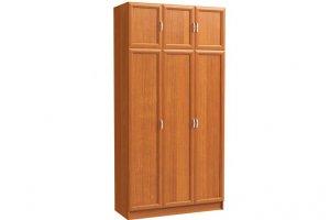Шкаф распашной 3-х дверный с антресолью - Мебельная фабрика «Континент»