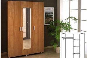 Шкаф распашной 3х створчатый - Мебельная фабрика «30 Век»