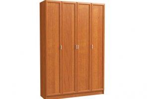 Шкаф распашной 4-х дверный - Мебельная фабрика «Континент»