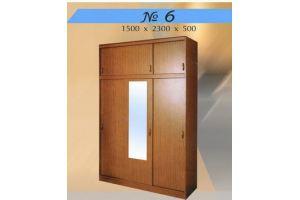 Шкаф распашной 6 - Мебельная фабрика «Мебель Шик»