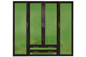 Шкаф распашной БЛИЦ 4,2 4-х дверный - Мебельная фабрика «Мебельком»