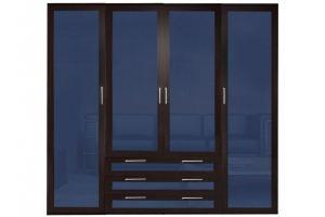 Шкаф распашной БЛИЦ 4,3 4-х дверный - Мебельная фабрика «Мебельком»