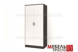 Шкаф распашной двухстворчатый - Лайт - Мебельная фабрика «МЕБЕЛЬ ПРОСТО»