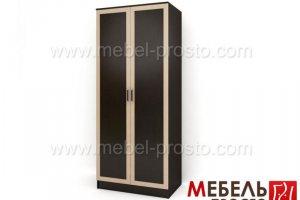 Шкаф распашной двухстворчатый - Стайл 2 - Мебельная фабрика «МЕБЕЛЬ ПРОСТО»