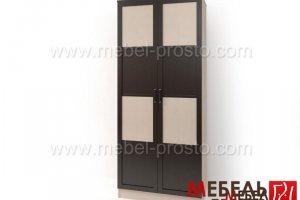 Шкаф распашной двухстворчатый - Стайл Люкс Д-2 - Мебельная фабрика «МЕБЕЛЬ ПРОСТО»