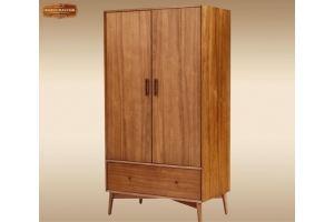 Шкаф распашной Кларион - Мебельная фабрика «Лидер Массив»