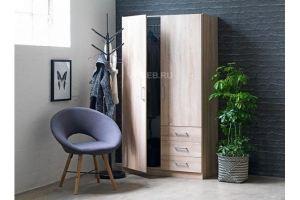 Шкаф распашной ЛДСП 1171 - Мебельная фабрика «СМ Вектор»