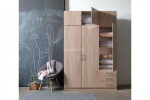 Шкаф распашной ЛДСП 1181 - Мебельная фабрика «СМ Вектор»