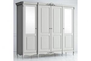 Шкаф распашной массив APs624Z K04 S - Мебельная фабрика «Kreind»