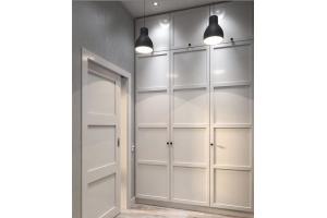 Шкаф распашной МДФ эмаль - Мебельная фабрика «Гранд Мебель»