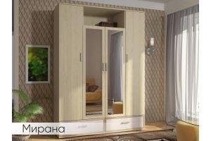 Шкаф распашной Мирана 1,6м - Мебельная фабрика «Мебель Даром»