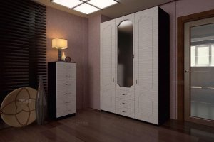Шкаф распашной Орбита 4 - Мебельная фабрика «ТФМ XXI»