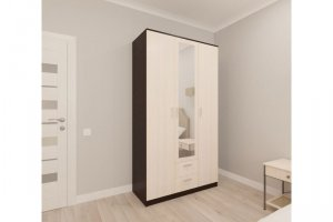 Шкаф распашной Орион 3 - Мебельная фабрика «Пульсар»