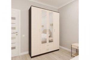 Шкаф распашной Орион 4 - Мебельная фабрика «Пульсар»