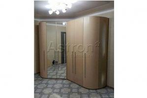 Шкаф распашной радиусный w171206 - Мебельная фабрика «Астрон»