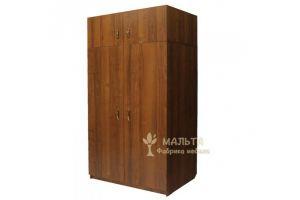 Шкаф распашной с антресолью - Мебельная фабрика «Мальта»