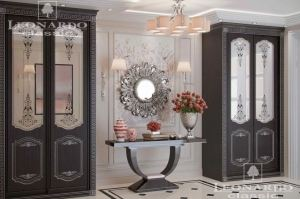Шкаф распашной с зеркалом - Мебельная фабрика «Леонардо»