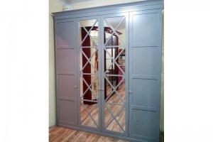 Шкаф распашной с зеркалом R007 - Мебельная фабрика «Blessed-Home»