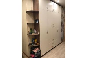 Шкаф распашной светлый - Мебельная фабрика «Гранд Мебель»