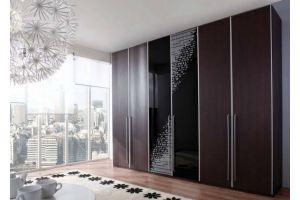 Шкаф распашной темный Агнеса - Мебельная фабрика «LEVANTEMEBEL»