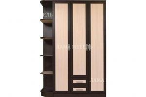 Шкаф-распашной трехстворчатый - Мебельная фабрика «Лама»