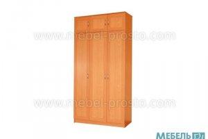 Шкаф распашной трехстворчатый - ШР 1 - Мебельная фабрика «МЕБЕЛЬ ПРОСТО»