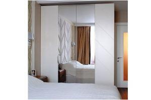 Шкаф распашной в спальню R003 - Мебельная фабрика «Blessed-Home»