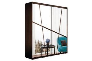 Шкаф распашной венге Крафт-1 - Мебельная фабрика «Андрей»