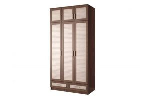 Шкаф распашной Жалюзи ТР-13 3-х дверный - Мебельная фабрика «Мебельком»