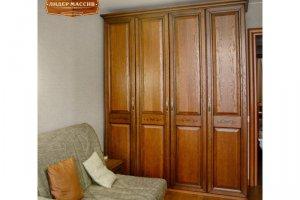 Шкаф Римини из массива дуба - Мебельная фабрика «Лидер Массив»