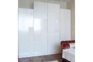 Шкаф с 3D фасадами R001 - Мебельная фабрика «Blessed-Home»