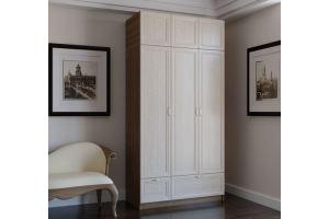 Шкаф с антресолью фасад рамочный Ш 01 - Мебельная фабрика «Милайн»